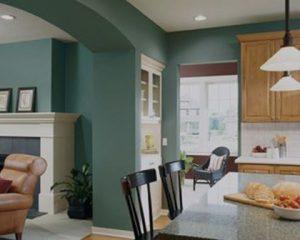 Pintura de interiores de cocina
