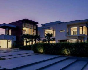 Construcción de vivienda de lujo