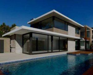 Construcción de viviendas modernas